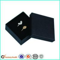 Buy cheap Cardboard Black Jewellery Packaging Gift Boxes from wholesalers