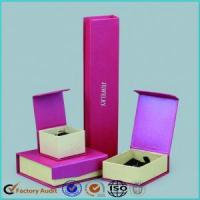 Fancy Pink Jewelry Packaging Gift Box Manufactures