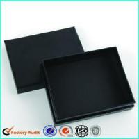 Buy cheap Customized Black Cardboard Jewellery Ring Box from wholesalers