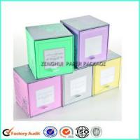 Custom Printed Candle Gift Packaging Box Manufactures