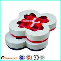 China Fancy White Chocolate Truffle Wrapping Boxes on sale