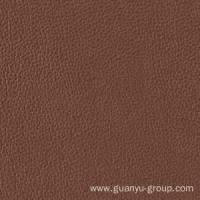 Brown Leather Look Porcelain Floor / Wall Tile Manufactures