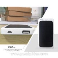 China Solar Powered Cellphone Charger With Waterproof on sale