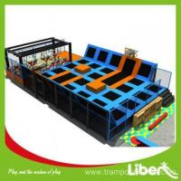 Teenager favorite customized outdoor gymnastic trampoline Manufactures