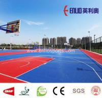 Buy cheap Outdoor basketball flooring with CE SGS from wholesalers