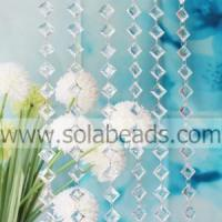 Summer 8.5*20*28mm Crystal Beading Chain Curtain Manufactures