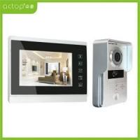 China Color Memory Video Door Phone Price on sale