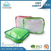 Coloured Clear Sealable Zip Plastic Packaging Bags