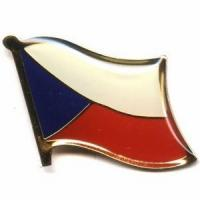 China Czech Republic Flag Pins on sale