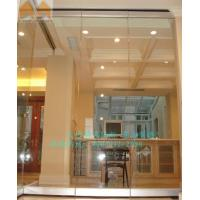 China Folding Glass Partition Series G type glass movable partition on sale