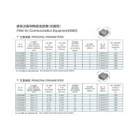 China Piezoelectric ceramic products Ceramic filter for communication equipment on sale