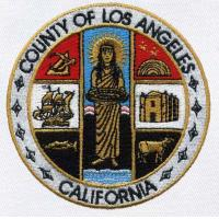 County Of Los Angeles California Seal Embroidery Patch Manufactures