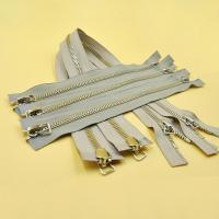 Separating Zipper Heavy Duty Metal Open Ended Two Way High Quality 5# Zipper for Clothing Zips Manufactures