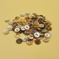 Dyeing Agoya Pearl Shell Button with 2 Holes for Women Garment Manufactures