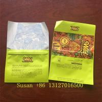 Buy cheap Custom Hand Rolling Plastic Tobacco Leaf Packaging Pouch Cigar Ziplock Cigarette Wraps Bags from wholesalers