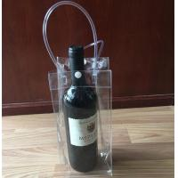 Buy cheap Custom Collapsible Wine Bottle Ice Cooler Bags With Handle from wholesalers