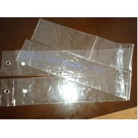 Buy cheap custom design Plastic pouch PVC Hair Extension Packaging Bag from wholesalers