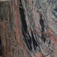 Buy cheap Red Granite Multicolor Juparana Red and Black Granite Tile for Landscape Construction from wholesalers