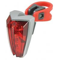 5 Super Bright Red White Plastic LED Tail Lights
