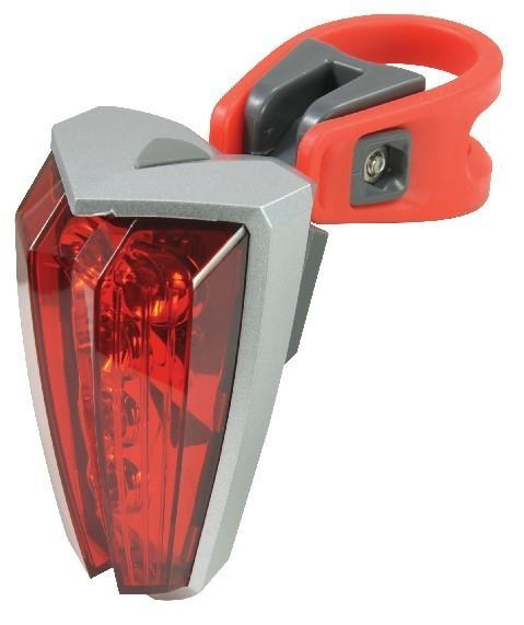 Quality 5 Super Bright Red White Plastic LED Tail Lights for sale