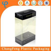 China Customized Transparent Plastic Folding Box for Phone Leather Storage Box on sale