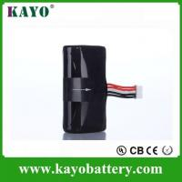 Buy cheap 3.7v 7.4V 2200mah 18650 Li-ion Battery from wholesalers