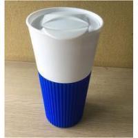 2016 colorful leak proof silicone plastic Christmas cup Manufactures