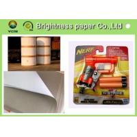 Lightweight Coated One Side Paper , Carrier Board Paper 400gsm / 450gms Manufactures