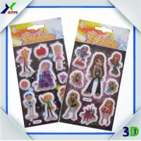 China Glitter Sticker for kids on sale