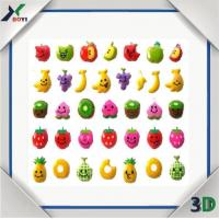 Buy cheap cartoon puff sticker from wholesalers