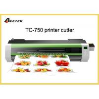 Printer Cutter Machine TC-750 0.73m Vinyl Plotter Printer And Cutter For Sale Manufactures