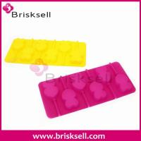 China silicone double heart lollipop mould BKS-g1006 on sale