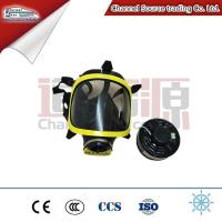China Anti- gas full face mask breathing respirator with Particulate filter cartridge on sale