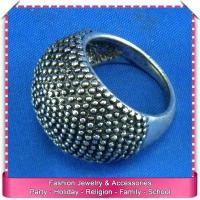 Buy cheap Fashion gay men gothic style ring, large metal rings wholesale from wholesalers