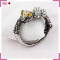 Buy cheap Cheap wholesale bangles snake shaped, imitate antique silver girls fancy bangles from wholesalers