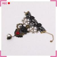 Buy cheap New style bracelet with ring, for party personalized woven fabric bracelets from wholesalers