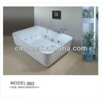 Best Price Adult Hydromassage Acrylic Bathtub For Sale Manufactures