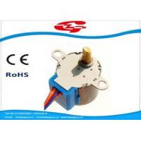 Permanent Magnet High Torque Stepper Motor With Gearbox , 5 Lead Wires Manufactures