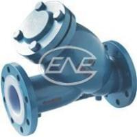 Diaphragm Valve Y-type Fluorine Lined Filter Manufactures