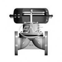 Diaphragm Valve BS Reciprocating-type Pneumatic Rubber Lined Diaphragm Valve Manufactures