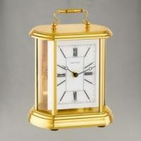 CLOCKS Table Clock Carriage-Oval 1/2hrStrike Manufactures
