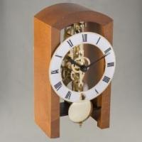 CLOCKS Table Clock Cherrywood -14 day Skeleton Manufactures