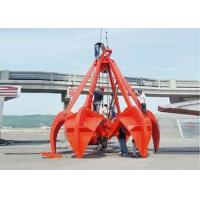 Mechanical Four Wirerope Clamshell Grab Bucket For Crane, Excavator Grab Bucket Manufactures
