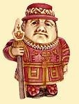 Quality Pot Belly Miniature Box - Beefeater, Guard for sale