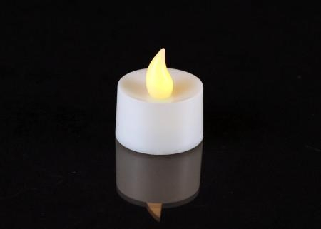Quality 48pcs Bulk Battery Operated Tea Light Candles- Amber for sale