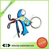 Moulds & Molding Pvc rubber key chain Manufactures