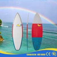 China 2017 Best Selling EPS Bamboo Wooden Veneer Painting Stand Up Paddle Boards on sale