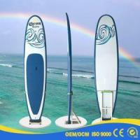 New Design Red Yellow ISUP Inflatable Stand Up Paddle Board Manufactures