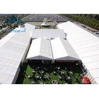 China Movable Design Trade Show Tents With Clear PVC Fabric / VIP Cassette Flooring wholesale
