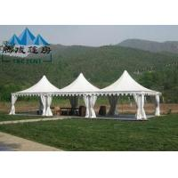 PVC Fabric Cover Outdoor Party Tent Easy Maintenance With Removable Wall Curtain